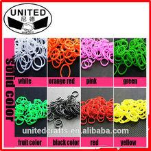 wholesale bulk elastic bracelet rubber crazy loom bangles