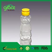Animal Shape PET Food Grade Bear Plastic Bottle