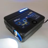 Xencn LG200 DC-12V Car Auto Electric Pump Air Compressor Portable Tire Inflator 45PSI LED Blue-ray