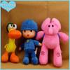 Pocoyo Cartoon animal Pocoyo Elly Pato soft stuffed Plush Toy
