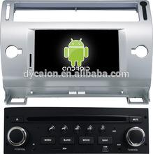 Car radio dvd gps player Citroen C4 /CAR CD DVD MP3 MP4 Player FM TV 3G WIFI/Car stereo radio Citroenc4 android bluetooth system