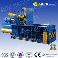 Front push Y81Q-135B hydraulic scrap metal shavings compactor baling machinery CE good price