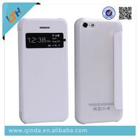 QinD New Design Slim Flip PU Leather Case For iPhone 5C Shenzhen factory