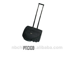 Polyester black business best wheels trolley laptop bags