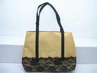 Bulk Buy Wholesale China Alibaba Bag Factory Stain Lace Tote Handbag Beach Bag Made in China