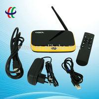 Vigica v3 H.265 decoding quad core android 4.2 smart tv box / magic box internet tv 4K solution / RK3288 h 265 set top box
