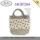 wholesale durable handmade linen bag