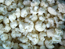 Grade A / B iqf frozen cauliflower florets, White broccoli for export 2015 new crop