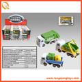 2014 juguetes de metal de basura camión de juguete para la venta de pequeño tamaño de