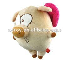 2014 Hot selling wholesale custom soft funny stuffed plush pig