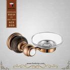 HIMARK Antique brass soap dish for shower rail