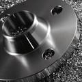 personalizado oem de mecanizado cnc de acero inoxidable forjado bridas