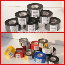 BLACK Fineray FC3 high quality black hot foil stamp/hot coding ribbon date coding machine printing machine/date code heat stamp