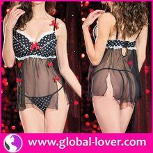 Hot sale sexy babydoll lingerie sex arabic girls