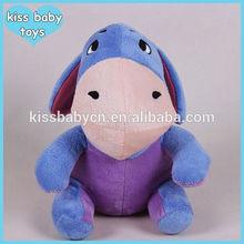 20cm good quality cartoon Donkey Eeyore super cute soft stuffed dolls plush toy