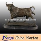 garden decoration bronze bull statue for sale NTBH-B010
