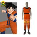 2014 caliente de la venta de anime cosplay disfraces de dragon ball z goku hijo de halloween traje de fiesta para la venta