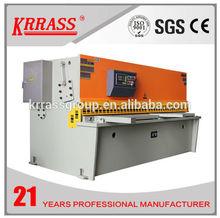 2014 New products China Krrass Brand CNC shearing machine,hydraulic plate guillotine shear,aluminum cut off machine