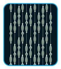 wholesale handmade crystal beaded decorative germany curtain