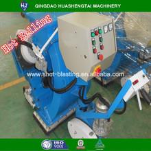 Marking line runway airport rubber removing machine /HST portable floor shot blast cleaning machine