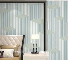 pvc wallpaper modern vinyl wallcovering manufacturers cheap wall coating/3d wallcovering