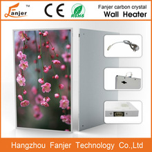 CE Rohs OEM far-infrared carbon crystal radiant mounted natural gas bathroom wall heater