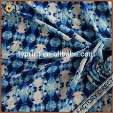 Factory direct custom digital print drapery silk fabric in high quality for garments