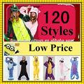 Super doux flanelle plus de 120 dessins partie cosplay costume de fantaisie diress animaux, body body pyjamas pyjamas pour adultes pour la vente