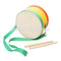 instrumento musical pendurar marchando tarola para percussão das crianças
