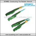 10g de transmisión de datos e2000 dúplex multimodo om3 de fibra óptica patch cable