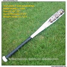 Aluminum baseball bat,Aluminum mini baseball bat,Baby use aluminum T-ball baseball bat
