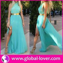 Hot style royal blue plus size cocktail dress