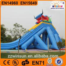 giant big dragon slide , huge dragon slide , Inflatable Slides For Sale