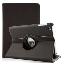 hot sales For ipad pu case 360 degree rotating function suitable for ipad mini 3
