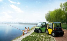 New Cars/ Two Seats or Seater Electric Cars/ Four Wheels Electric Golf Car with EEC