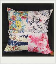 2015 hot popular square printed boat cushion