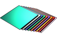 customize varies grain color mirror double sided thick arylic sheet