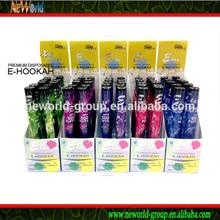 2014 Neworld one time using ecig big vapor hookah e shisha pen