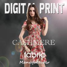 High Quality digital printed silk georgette fabric- w0917-2