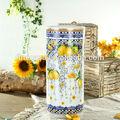Elegante belas novo osso China cerâmica titular guarda-chuva de golfe de limão fragrância