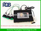 RDB 3D Network hdd media player support 1080P,Optical Coax, HDMI,RMVB.MKV,FLAC,H.264 DS009-51