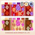 2014 venda quente colorido pigmento impresso tecidos africanos