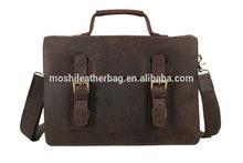 Vintage Men Leather Handbag