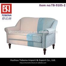Luxury living room 2 seat sofa TB-9105-2