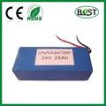 24 V de la batería de litio 25Ah para de copia de seguridad