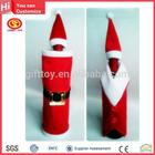 2014 Best Design Plush Christmas Wine Bottle Dress Decorative