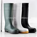 Gelb frauen gummi regen stiefel, Wasser stiefel für arbeit, weiß gummistiefel w-6037