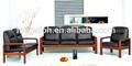 Guangzhou fábrica de la oficina sofá muebles diseña imágenes ( FOH-6668 )