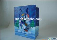 2015 years hot sale custom printed art paper bag for Christmas gift