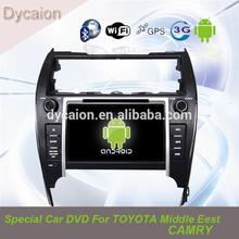 andriod car stereo radio dvd gps toyota camry /car auto radio dvd gps camry android/Car multimedia radio dvd gps for camry 2012